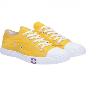 U2 Boys Lace Sneakers(Yellow)