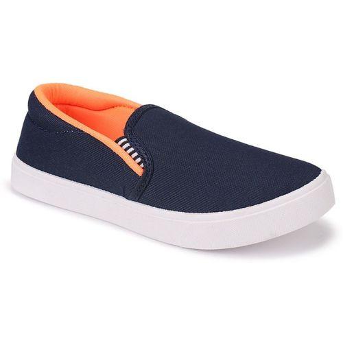 Earton Boys Slip on Loafers(Blue)
