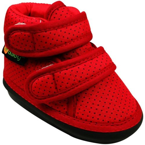 Im Baby Boys & Girls Velcro Casual Boots(Red)