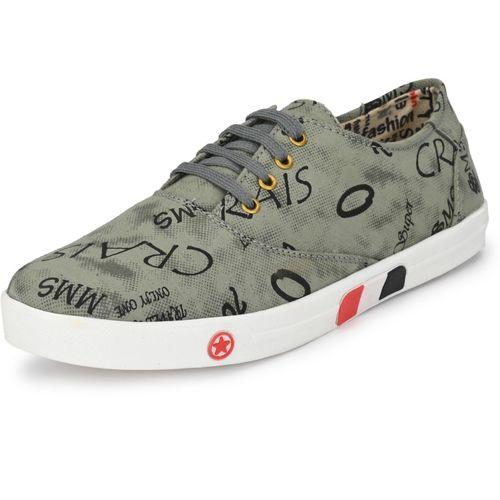ALBANIA Boys Lace Sneakers(Grey)