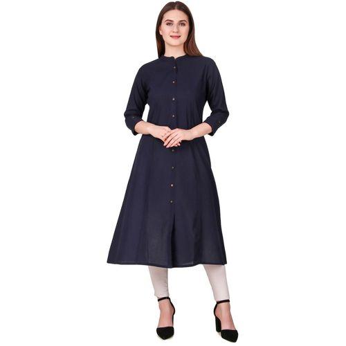 Jaypur Textile Women Solid A-line Kurta(Multicolor)