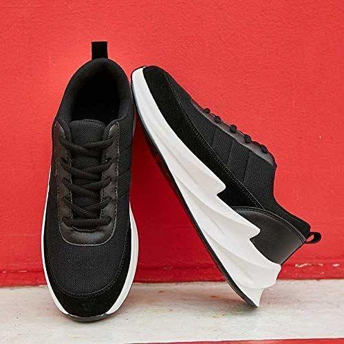 VOSCO Men's Mesh Black Shark Sports Running Walking Shoes