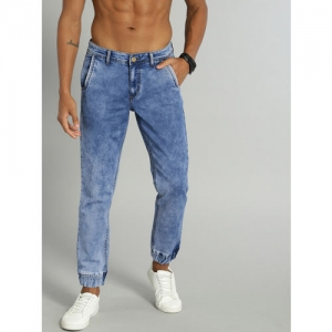 Roadster Men Blue Slim Jogger Mid-Rise Clean Look Stretchable Jeans