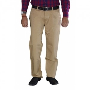 STUDIO NEXX Cotton Khaki Chinos Trouser