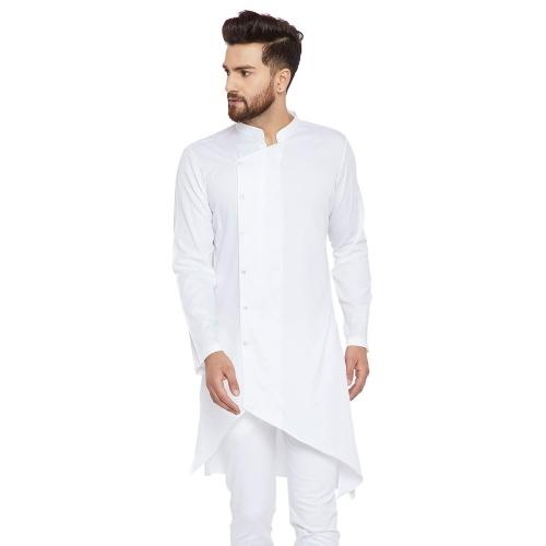 See Designs White cotton Kurta