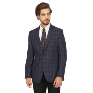 Raymond Blue Contemporary Fit Blazer