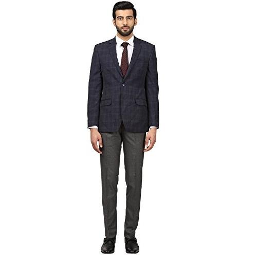 Raymond Blue Contemporary Fit Blazer