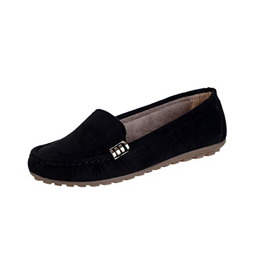 CatBird  Black  Faux Leather Loafers