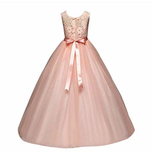 MANNAT FASHION Baby- Girl's Kid's Birthday Dress Princess Frock&Gown White MF 045 Kidswear