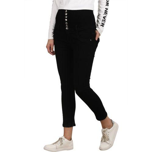 Broadstar Skinny Women Black Jeans