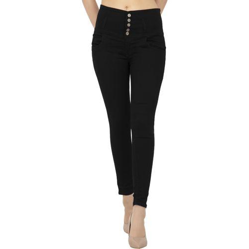 AMBROSIAL Regular Women Black Jeans