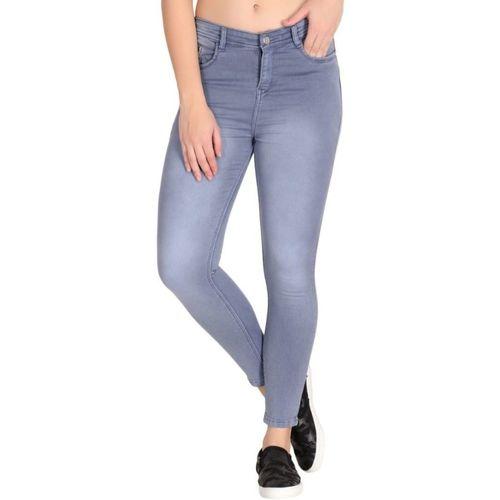 DELMY Slim Women Grey Jeans