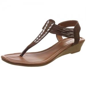 BATA Women's Marun Glow Sandal