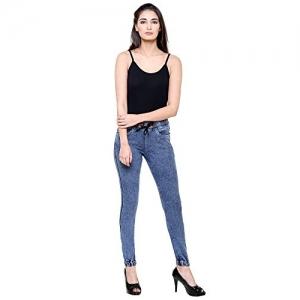 DAMEN MODE Women Blue Stretchable Skiny Fit  Jeggings