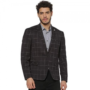 Jack & Jones black Linen Notch Lapel Blazer