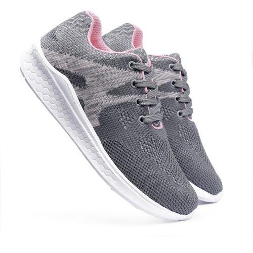 Meriggiare Women Fashion Sneakers Lightweight Sport Gym Jogging casual walking Air Cushion Athletic Tennis Running Sports Shoes-Grey Training & Gym Shoes For Women(Grey)
