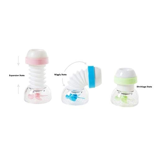 SHOPPOSTREET Anti-Splash Expandable Head Nozzle Bathroom Tap