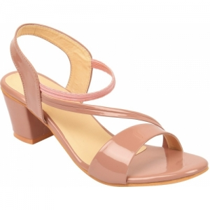 Elegandra Women Pink Block Heels