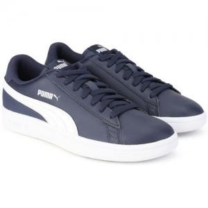 Puma Smash v2 L Sneakers For Women(Blue)