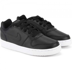 Nike Wmns Ebernon Low Sneakers For Women(Black)