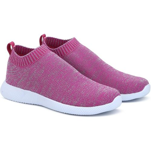 United Colors of Benetton Girls Slip on Walking Shoes(Pink)