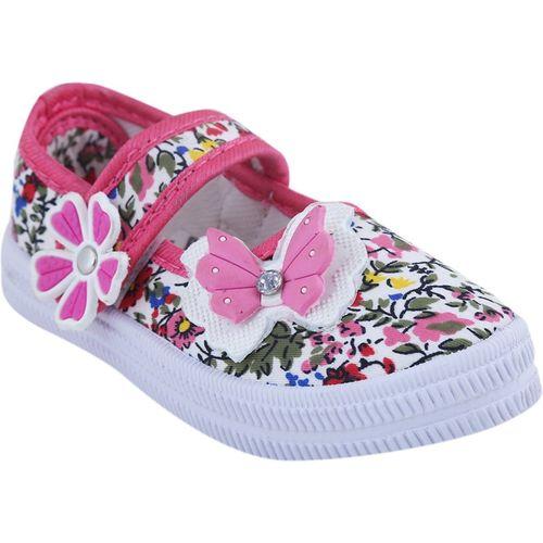 BUNNIES Girls Lace Walking Shoes(Pink)