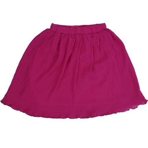 Cartalyst Striped Girls A-line Pink Skirt