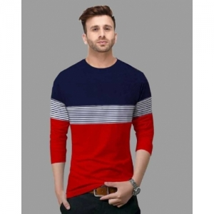 FastColors multicolor cotton Solid Round Neck T-Shirt