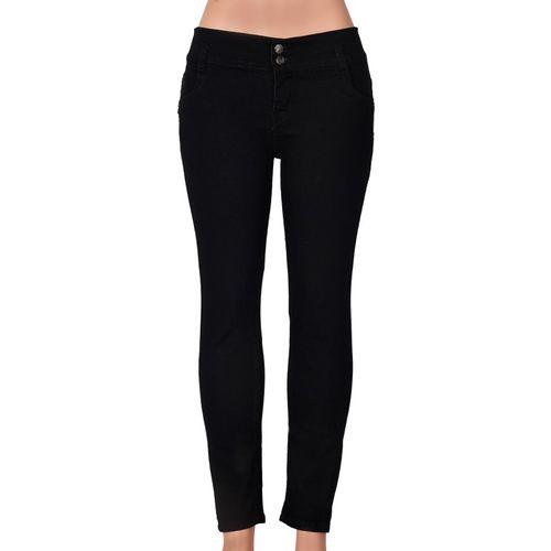 Ziva Fashion Skinny Girls Black Jeans