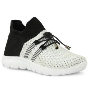 TECHNOFIT Grey & Pink Polyurethane Running Shoes