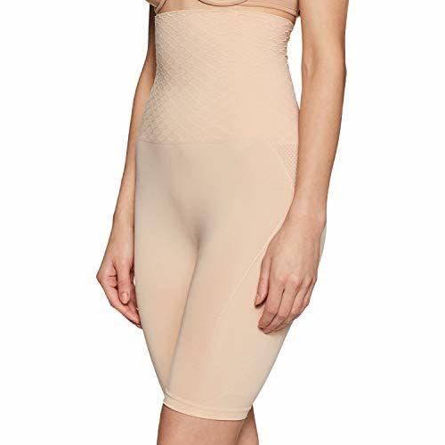 Zivame Beige Polyamide Thigh & Tummy Shapewear