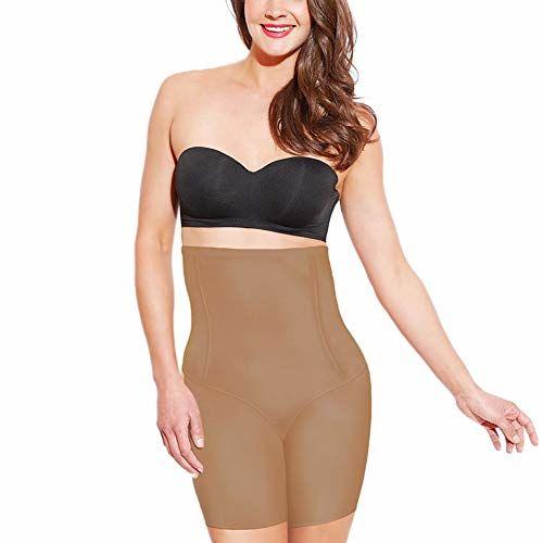 Enamor Women's Polyamide Hi-Waist Thigh Slimmer