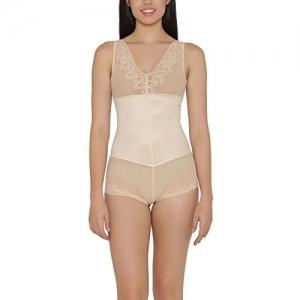 Clovia Women's Sheer Patterned Body Suit