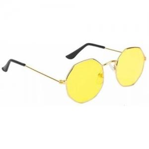 SRPM Round Sunglasses(Yellow)