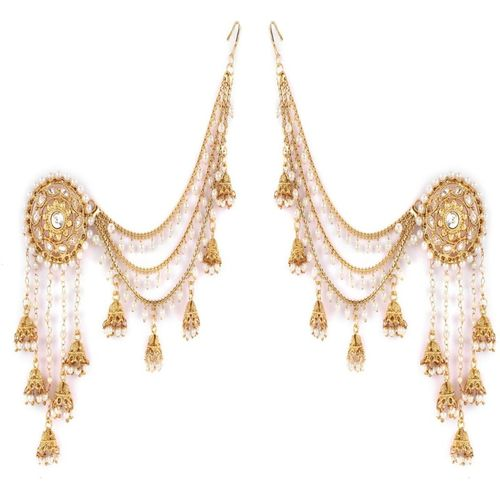 Shining Diva Original Bahubali Stylish Fancy Party Wear Alloy Jhumki Earring