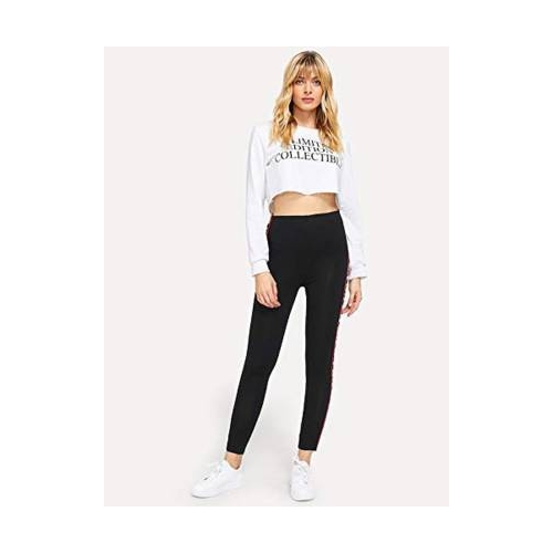 DTR FASHION Black Jegging(Solid)
