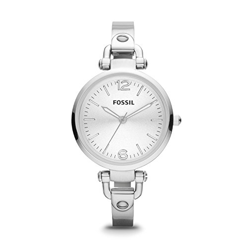Fossil Georgia Analog Silver Dial Women's Watch - ES3083