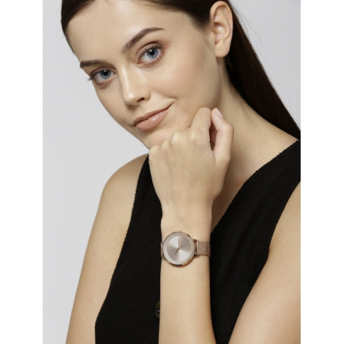 French Connection Women Rose Gold-Toned Analogue Watch FCN0001F