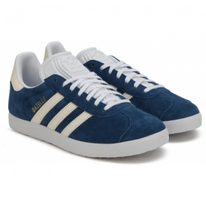 ADIDAS ORIGINALS Blue rubber Gazelle W Sneakers