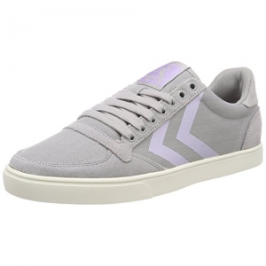 hummel grey rubber Slimmer Stadil Hb Low Unisex Sneakers