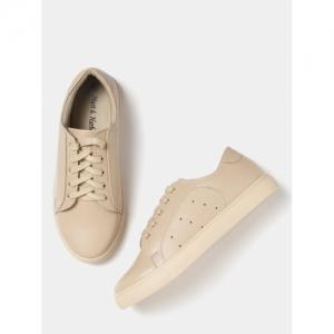 Mast & Harbour Beige synthetic Sneakers