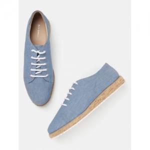 Mast & Harbour Blue eva Solid Sneakers
