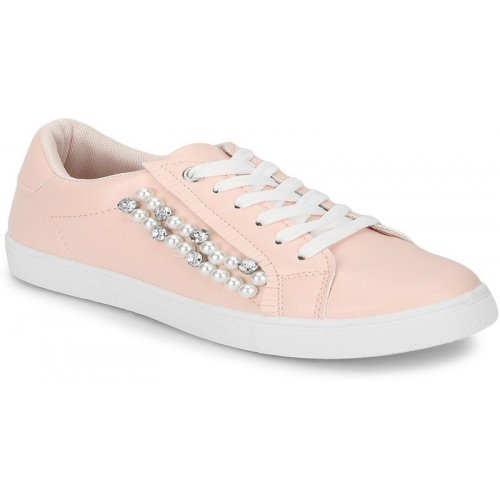 Truffle Collection pink synthetic Sneakers