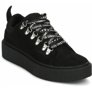 Truffle Collection black synthetic Sneakers