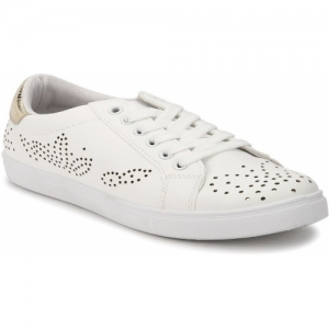 Truffle Collection White synthetic Sneakers
