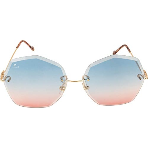 AISLIN UV Protected Over Sized/Round Sunglasses