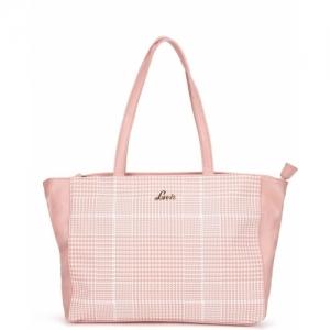 Lavie Women Pink Polyurethane Shoulder Bag
