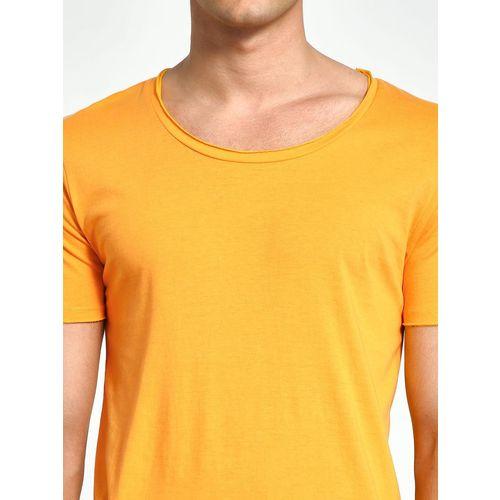 KOOVS Scoop Neck Slim T-Shirt