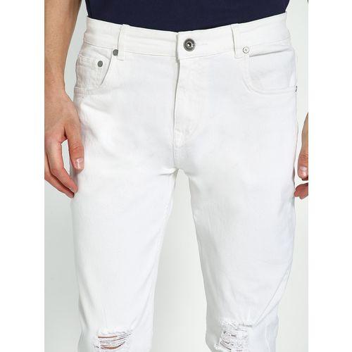 K Denim KOOVS Knee Rip Skinny Jeans