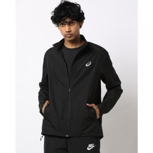 ASICS Zip-Front Track Jacket with Insert Pockets